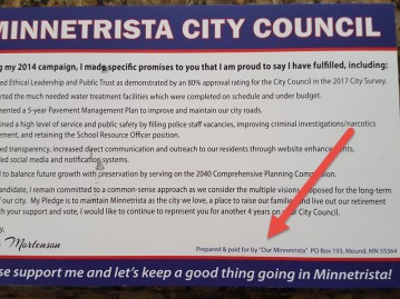 our minnetrista disclaimer
